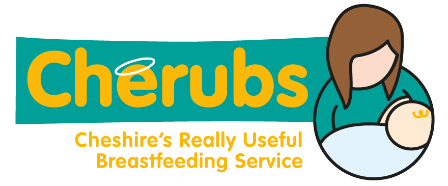 Cherubs - Cheshire's Really Useful Breastfeeding Service logo