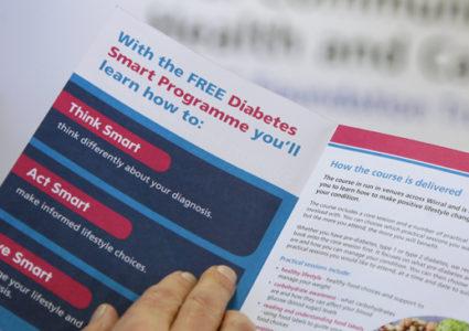 Diabetes Smart course leaflet.